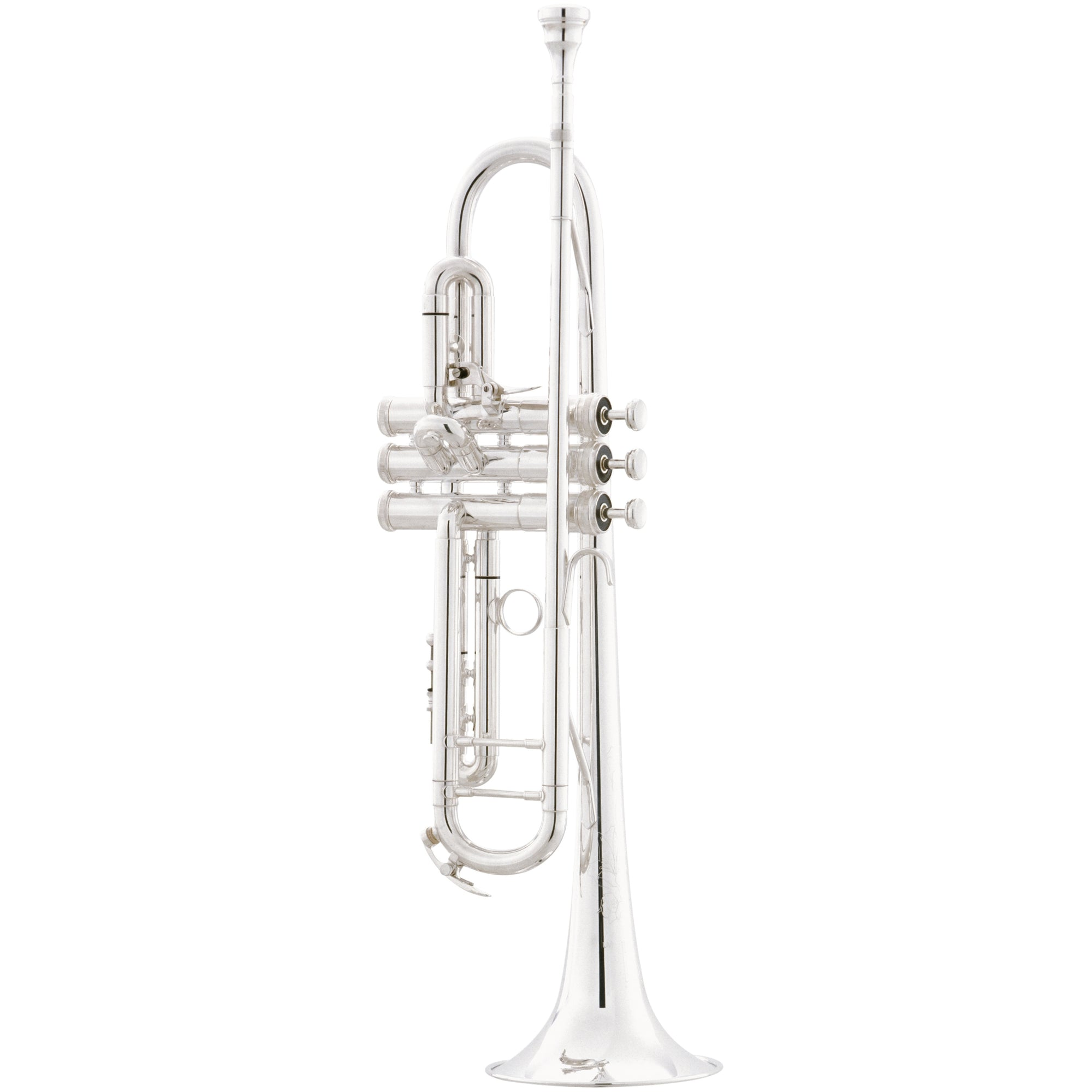 King 2055T Silver Flair Bb Trumpet