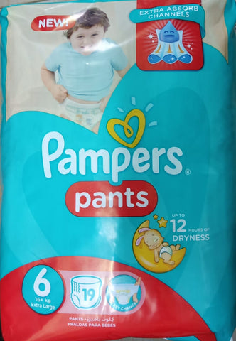 Pampers Pants Stage 6 - 19 Diapers