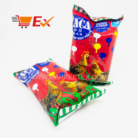 CACA Corn Snack - Chicken Flavour 6G x 50PCS x 1BAGS