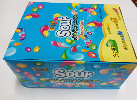 SOUR GEMS ARTIFICIAL FLAVORS 20GMX24PCS-PACK