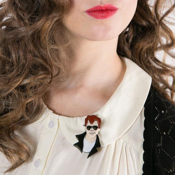 Hickie from Kenickie Brooch