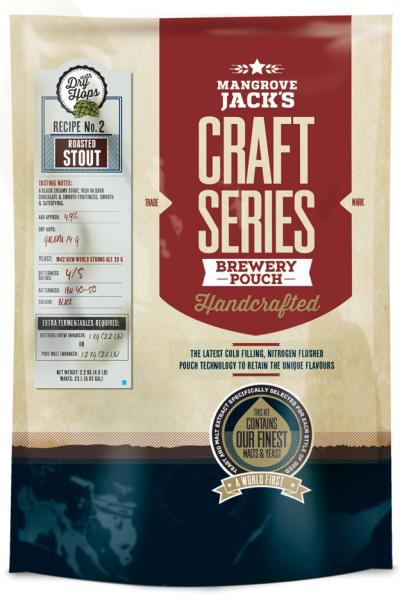 Mangrove Jack's Craft Series Roasted Stout Pouch - 2.2kg