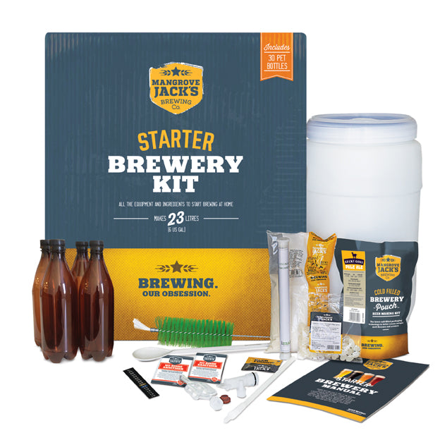 Mangrove Jack's Starter Brewery Kit with Bottles