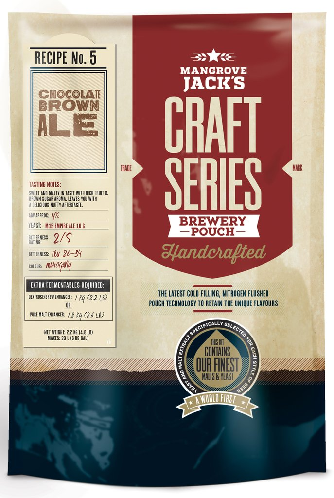 Mangrove Jack's Craft Series Choc Brown Ale - 2.2kg