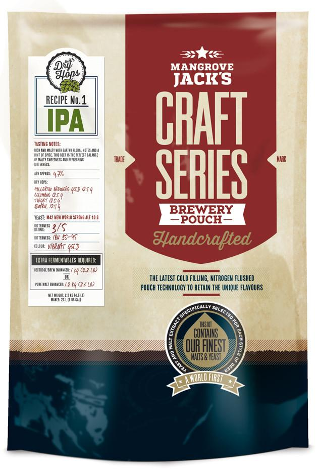 Mangrove Jack's Craft Series IPA with dry hops - 2.5kg