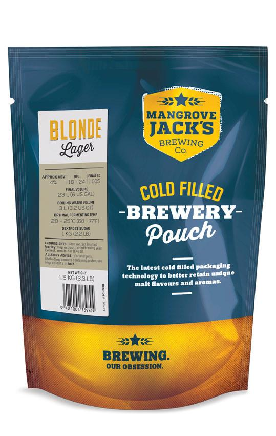 Mangrove Jack's Traditional Series Blonde Lager Pouch -1.5kg