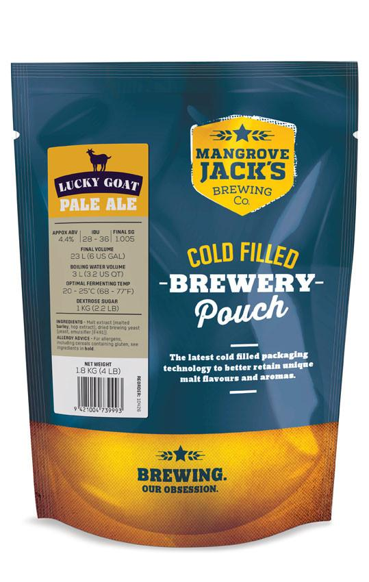 MJ Traditional Series Lucky Goat Pale Ale Pouch - 1.8kg