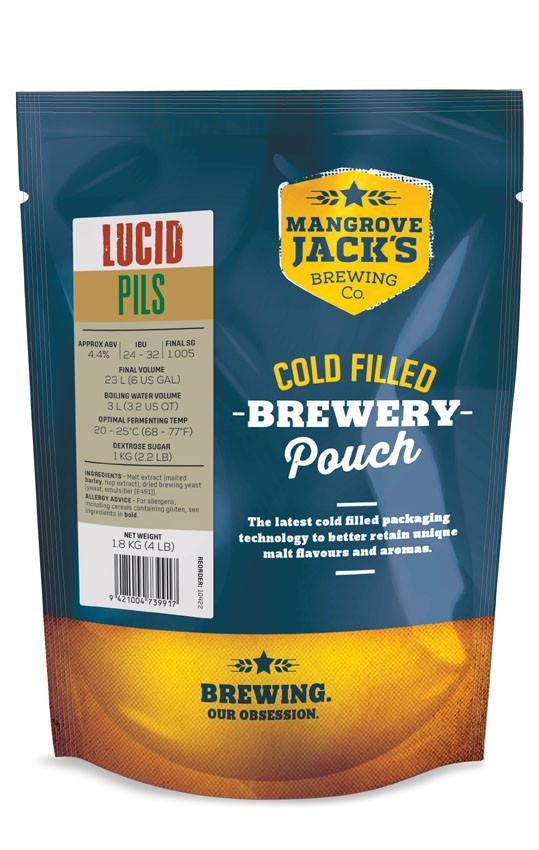 MJ Traditional Series Lucid Pils Pouch - 1.8kg