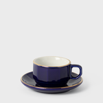 Martell Blue Porcelain Espresso Cup & Saucer | Vespiary