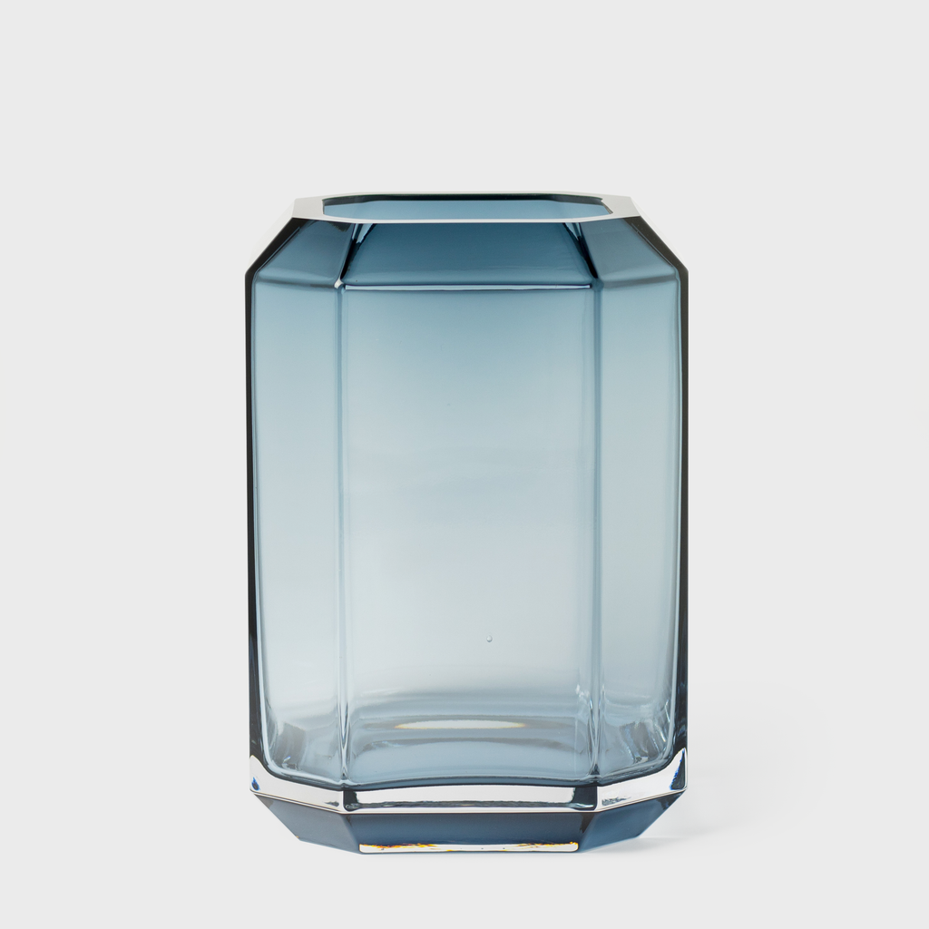 Vespiary Blue Glass Jewel Vase Louise Roe