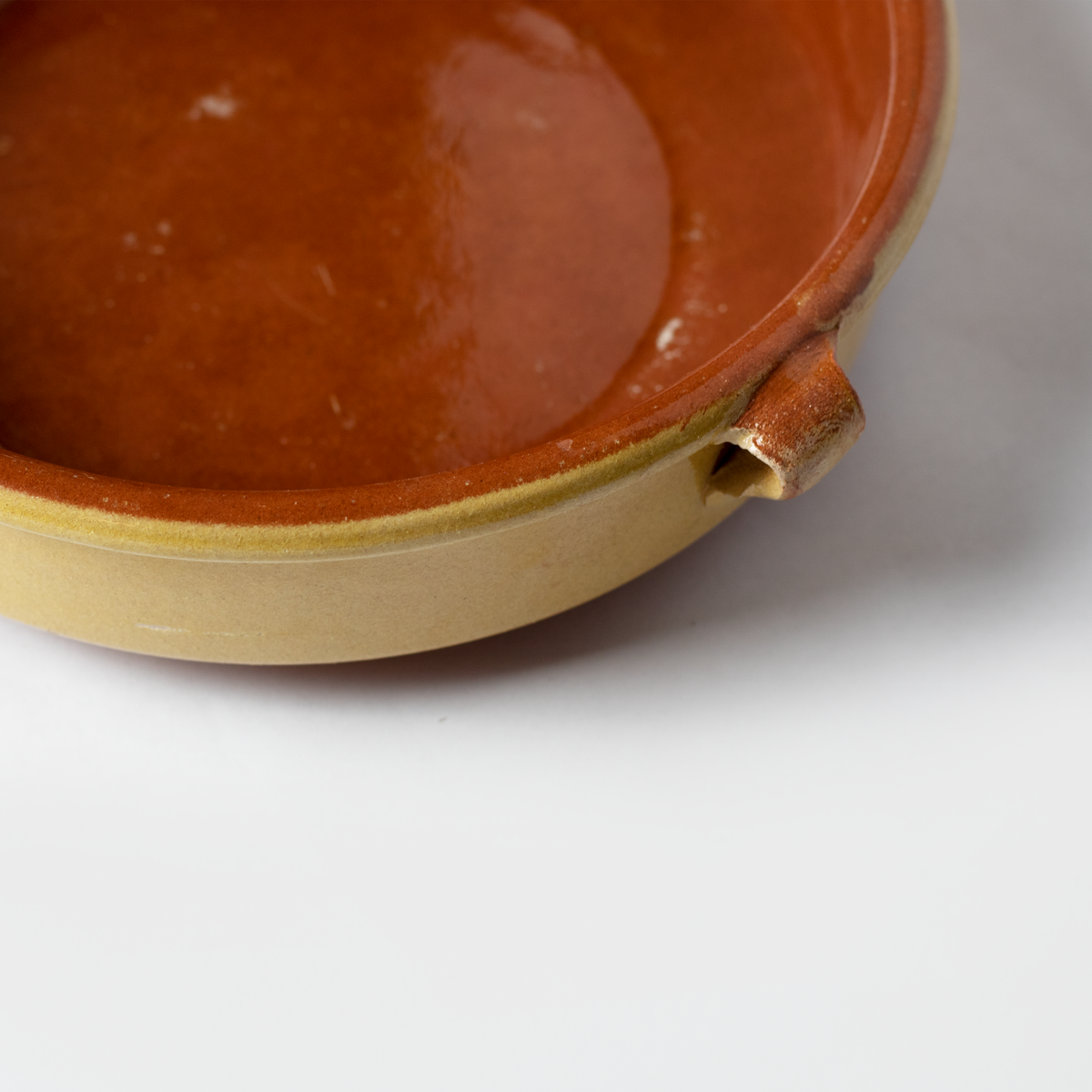 Yellow Terracotta Serving Dish