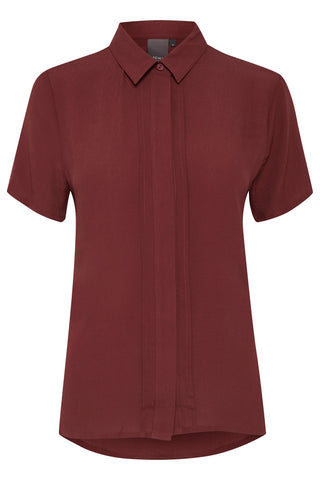 ICHI Andorra Shirt - Coffee and Cloth