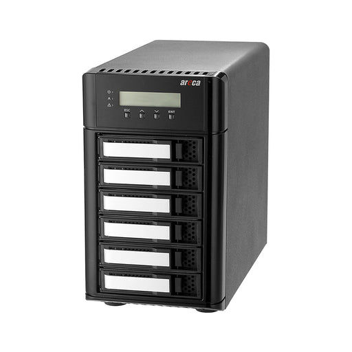 Areca ARC-8050T3 6 Bay RAID SAS /SATA 12G Thunderbolt 3 Tower Enclosure