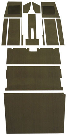 Pre-Cut Piper Cherokee PA-28 Carpet Kit