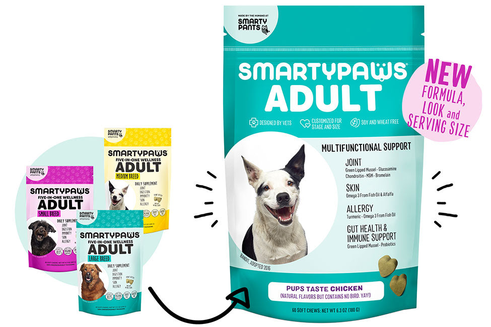 SmartyPaws new dog health supplements