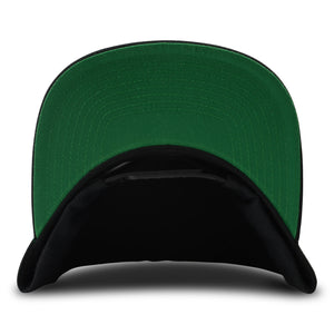BarCountry Black Snapback Hat