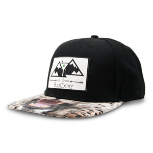 BarCountry Leopard Snapback Hat