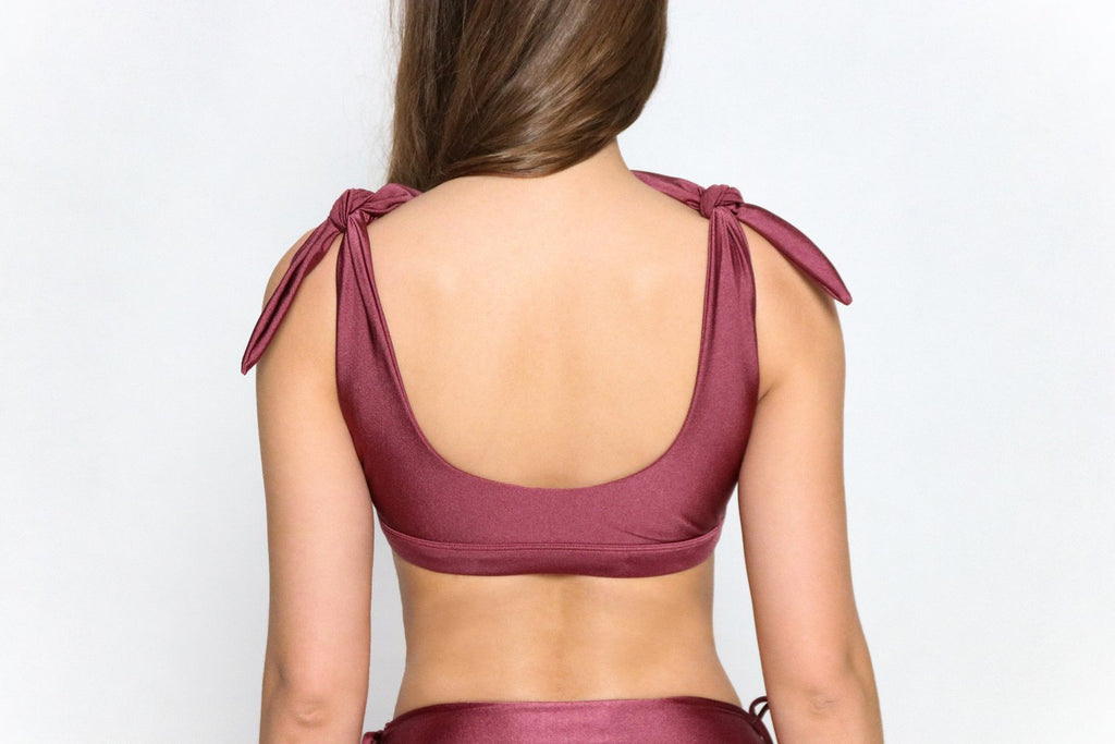 Petra Top Purple (with bra inserts)