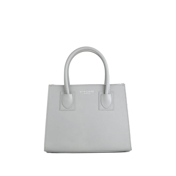 "Kara Saffiano 9"" - Light Grey"