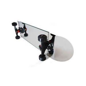 Mirror in a skateboard for room decor