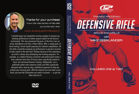 DVD - Defensive Rifle Training Program Skills and Drills Volume 1 and 2