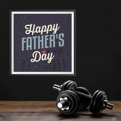 Ezposterprints - Happy Father's Day | Father's Day Posters - 12x12 ambiance display photo sample
