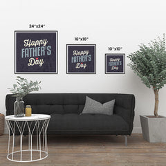 Ezposterprints - Happy Father's Day | Father's Day Posters ambiance display photo sample