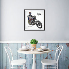 Ezposterprints - American Legends Skull Riders - 16x16 ambiance display photo sample
