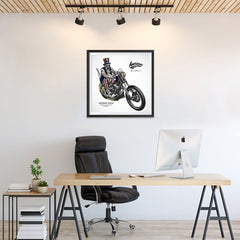 Ezposterprints - American Legends Skull Riders - 24x24 ambiance display photo sample