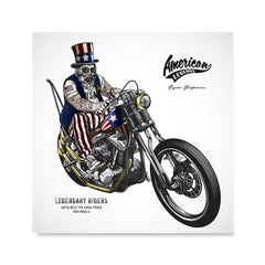 Ezposterprints - American Legends Skull Riders