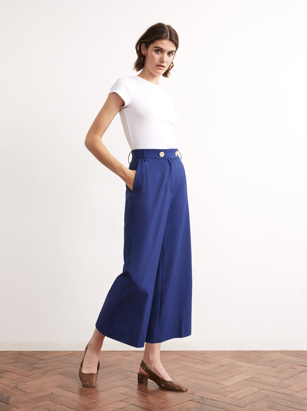 Serena Cropped Trousers