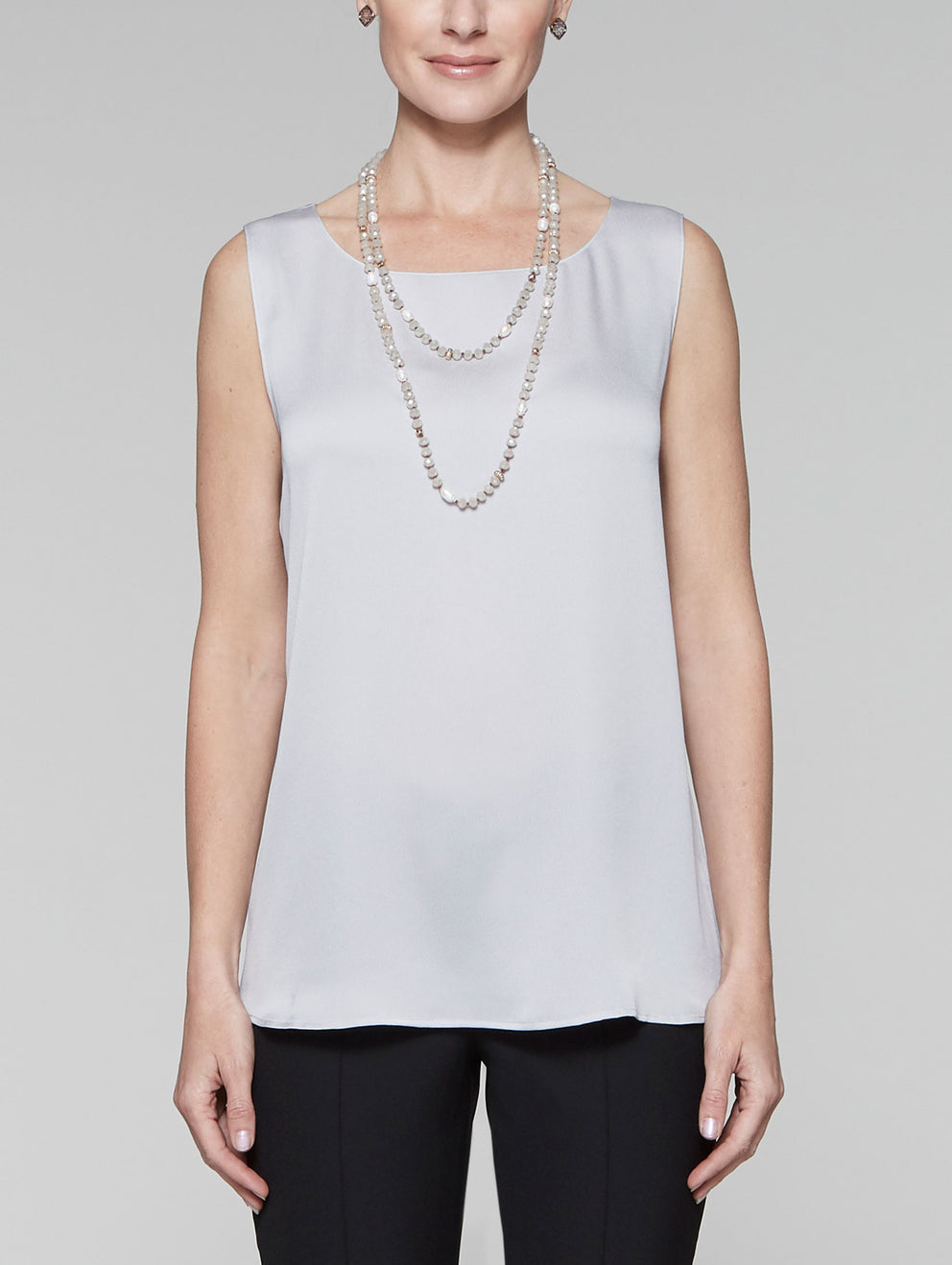 Marble Grey Textured CDC Tank