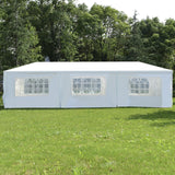 Wedding Canopy Tent With Sides and Windows 10x30