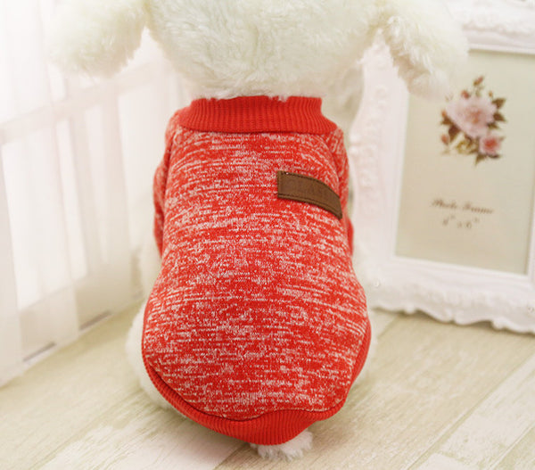 red color nice small dog cloth
