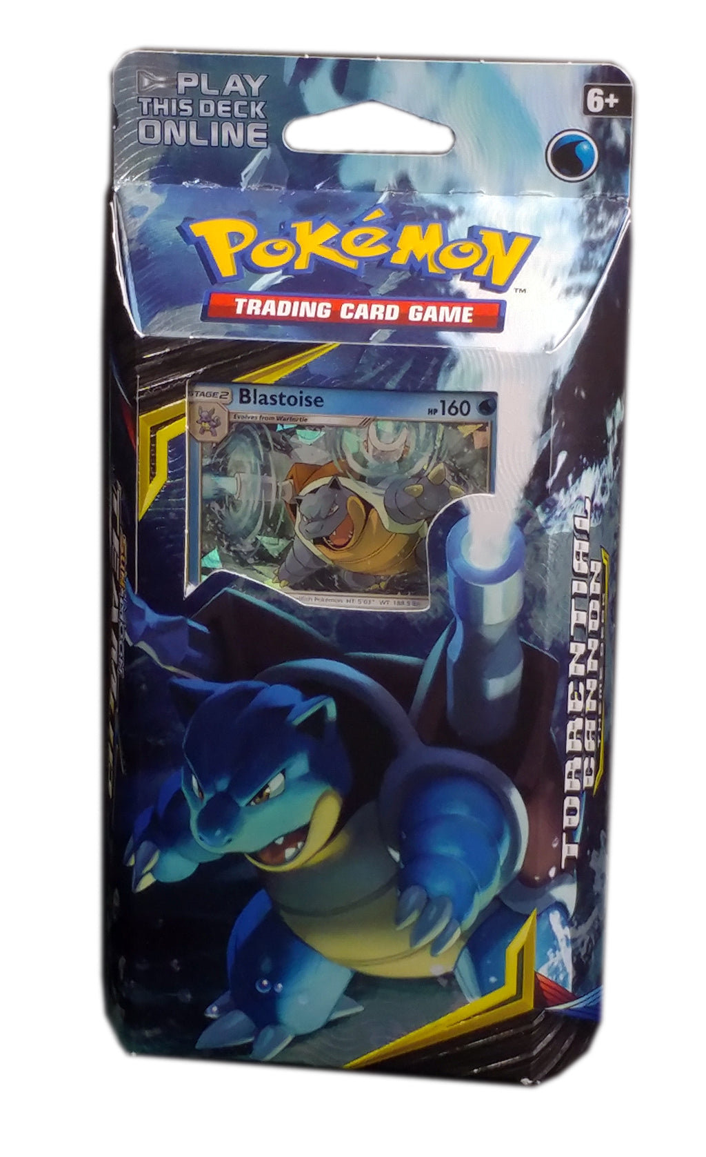 Pokemon SM9, Team Up Blastoise Theme Deck