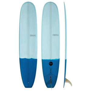 "MODERN RETRO P.U 9'6"" TWO TONE BLUE"