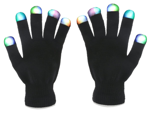 7-Mode LED Gloves