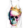 Image of 3D SKULL CROWN TANK