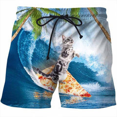 SURFER CAT SHORTS