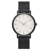 Image of Minimal Black Stainless Steel Watch