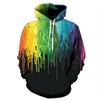 Image of 3D COLORFUL UNISEX HOODIE