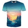 Image of 3D BLUE RIVER TEE
