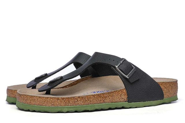 Birkenstock Gizeh SFB BF Desert Soil Black Men's Sandals