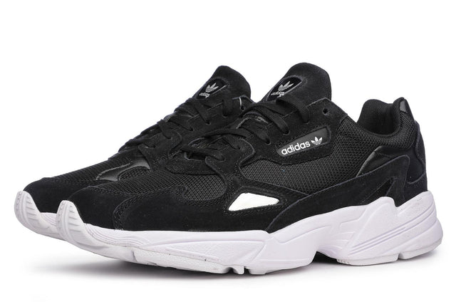 adidas Originals Falcon Black/ White Sneakers B28129