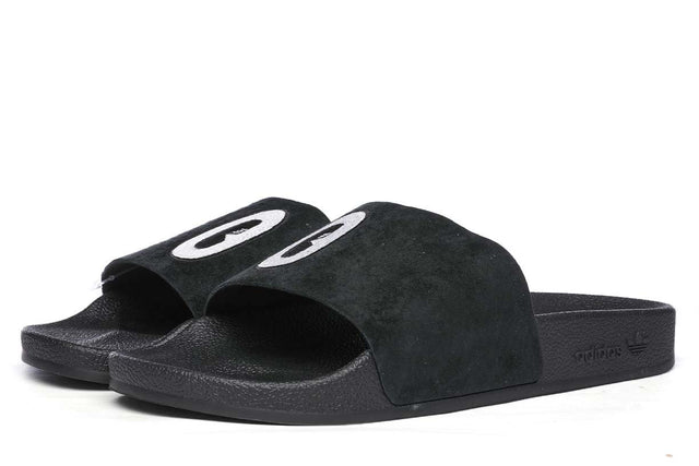 adidas Originals Adilette Slides Core Black / White  Core Black