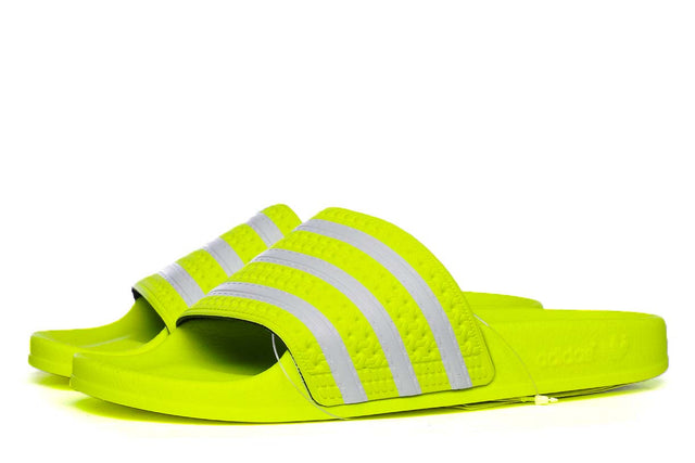 adidas Originals Adilette Slides Solar Yellow EE6182