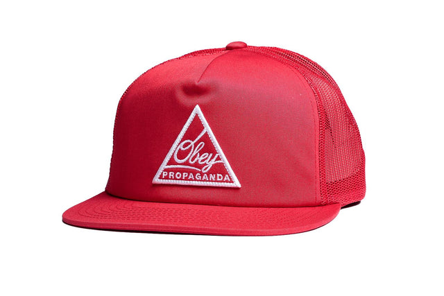 OBEY New Federation Trucker Red