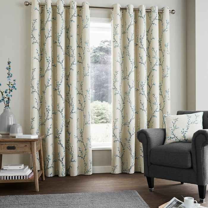 Fusion Hemsworth Duck Egg Curtains