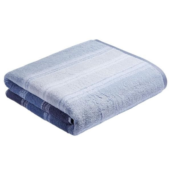 Bianca Cotton Soft Ombre Stripe Towel