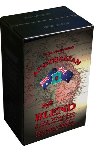 Australian Blend 23l- 7 Day Wine Kit - Cabernet Sauvignon